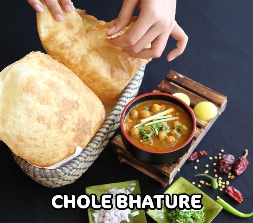 Chole Bhature - 850 x 750