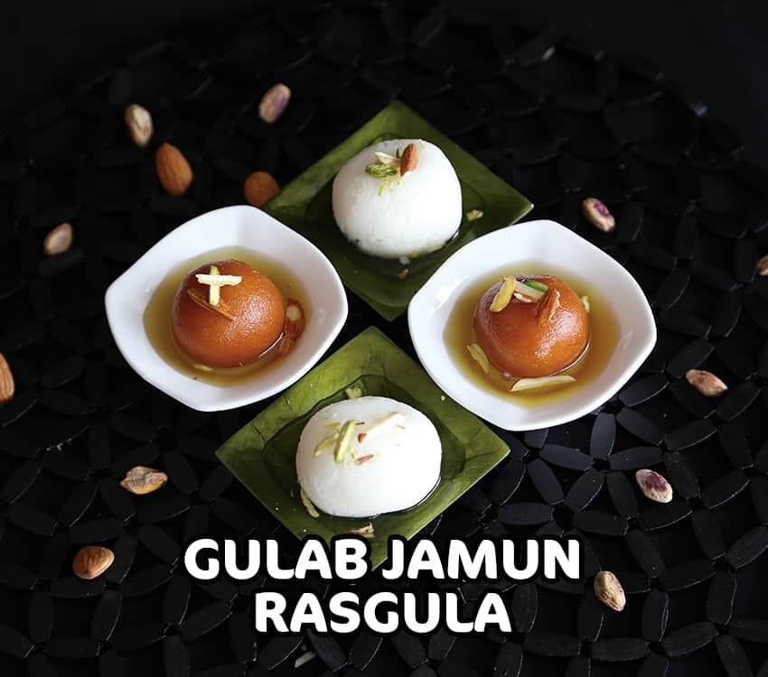Gulab Jamun - Rasgula - 850 x 750
