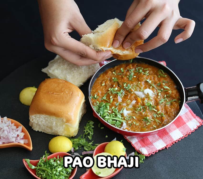 Pao Bhaji - 850 x 750